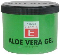 Village 9509-01 Aloë Vera Body Gel verkoelend met vitamine E, per stuk verpakt (1 x 500 ml)
