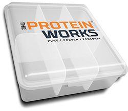 Fiambrera / de The Protein Works / Large / Gracias al gran y versátil sistema multicompartimento puedes guardar alimentos y comidas frescos y seguros.