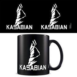 Pyramid International MGB26312 (Kasabian) Black Coffee Mug Kaffeebecher, keramik