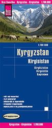 Kyrgyzstan 1: 700.000 impermeable: reiß- und wasserfest (world mapping project)