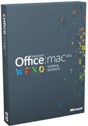 Office für Mac 2011 Home & Business Multipack - 2MACs/1User - englisch