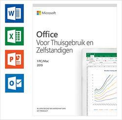Microsoft Office 2019 Home and Business   Nederlands   eenmalige aankoop   1 PC (Windows 10) of Mac   Download