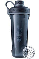 Blender Bottle Radian Tritan | Proteïne shaker cup| Dieet shaker| Water Bottle | Met Blender Ball | 940ml- zwart