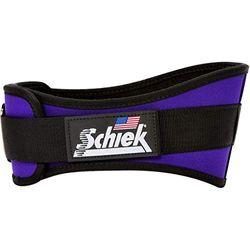 Schiek Sports Gürtel, unisex, bequem justierbar, Rückenbreite 15 cm, Unisex, purpur, L