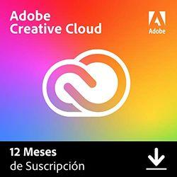 Adobe Creative Cloud | Standard | 1 Año | PC/Mac | Código de activación enviado por email