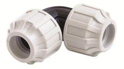 STP fittings 08335430 - Conector en codo de PP, 50 x 50 mm