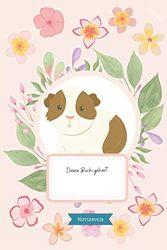 Notizbuch: Super süßes Meerschweinchen Notizbuch für Frauen, Kinder und Männer / Gepunktetes Papier für Journaling: Perfektes Geschenk für Meerschweinchen Fans