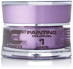 BC Bernal Cosmetics Gel Painting Nr. 1, Weiß, 5 ml, 1 Stück