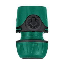 AQUA FLOW- Jardibric-Racord rápido Bimaterial, 15 mm, 6790261J, Multicolor
