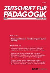 Zeitschrift für Pädagogik