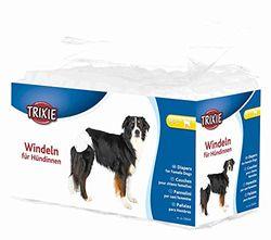Pañales para perros, pack de 12, tamaño S-M