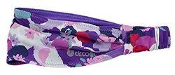 Dr. Cool Chillband Studio Haarband, Damen, Violett (Floral), Einheitsgröße
