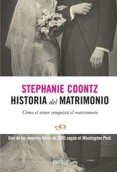 Historia del matrimonio (Historia (gedisa))
