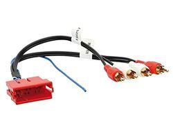 ACV 1445-01 Cinch actieve systeemadapter voor Audi Mini