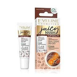 Eveline Cosmetics Lip Balm Juicy Kisses Chocolate, 12 ml