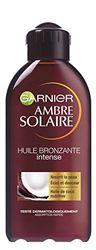 GARNIER - Ambre Solaire - Huile Bronzante Intense aux senteurs de COCO SPF2 - 200ml