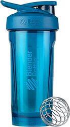 BlenderBottle Strada Shaker Cup Perfect voor Protein Shakes en Pre Workout, 28 Oz, blauw