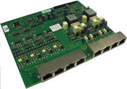 Tiptel 2FXO/4FXS-module voor ISDN-installatie 822XT Rack