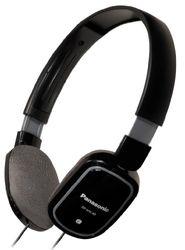 Panasonic RP-HXC40E-K Lichte koptelefoon met volumeregeling en microfoon voor iPhone/iPod, zwart
