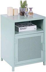 Aufbewahrungsschrank für Schreibtisch, Metall, Grün, 39 x 35 x 56 cm