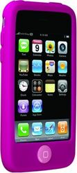 SwitchEasy Colours Fushcia Siliconen Hoesje voor iPhone 3G