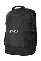 2XU Unisex Speed-Rucksack, Schwarz/Schwarz, One Size