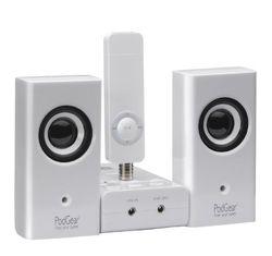 PodGear Shuffle Station: geluid- en oplaadsysteem voor iPod Shuffle