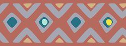 PLAGE boorden stambewustzijn-oranje (300x10cm), acryl, 300 x 0,2 x 10 cm