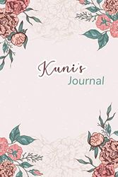 """Kuni's Journal: Beautiful Notebook Gift for Kuni, Elegant Cover,Practical 100 Lined Pages with Timeline, 6""""x9"""" Lightweight and Compact, Premium Matte Finish"""