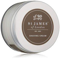 St. James of London Crema de Afeitar Pimienta Negra & Lima Bol 150ml, Único