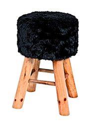 Haku meubelkruk, zwart, 45 x Ø: 30 cm