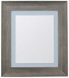 FRAMES BY POST Marco para Foto, plástico, Wolf Grey, 30 x 20 Inches for Image Size A2 (Plastic Glass)