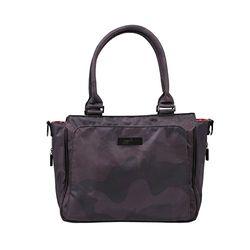 JuJuBe - Colección Onyx - Be Classy - Bolsa de pañales estructurada, color negro