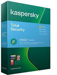 Kaspersky Total Security 2021   3 Apparaten   1 Jaar   Antivirus, Secure VPN en Password Manager inbegrepen   PC/Mac/Android   Activeringscode per Post