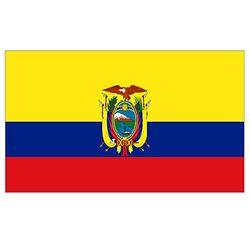 Supportershop Ecuado vlag, geel, 150 x 90 cm