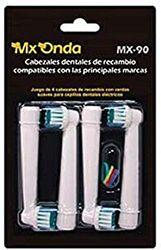 Mx Onda MX-90 tandenborstelkopen, 4 stuks
