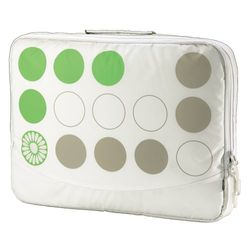 aha notebook-cover C4 43,2 cm (17 inch), groen/wit