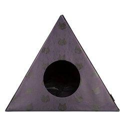 District 70 - 4608 - Triangle Cats Katzenhöhle - 60 x 60 x 53 cm - Dunkelgrau