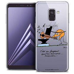 Beschermhoes voor Samsung Galaxy A8 2018, ultradun, motief: muzikanten