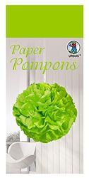 Paper Pompons, zijdepapier, 50 x 70 cm, 10 vellen in de kleur limoengroen