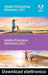 Adobe Photoshop & Premiere Elements 2021 | 1 Usuario | Mac | Código de activación Mac enviado por email