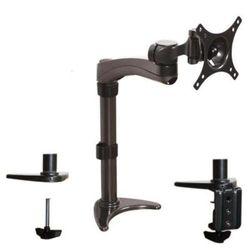 B-TECH BT7372/GB Premium bureauhouder (75 x 75 mm, 100 x 100 mm, schermgrootte tot 61 cm (24 inch), belastbaarheid 9 kg), zwart