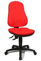 Topstar Point 70 bureaustoel, stof, 55 x 47 x 110 cm, rood