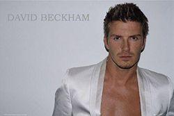 1art1 40063 David Beckham - witte jas poster 91 x 61 cm
