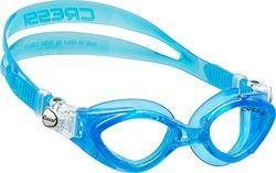 Cressi King Crab Goggles - Jonge zwembril voor kinderen van 7 tot 15 jaar - Gemaakt van zacht siliconen