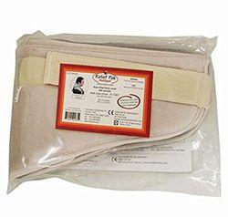 Badstofhoes voor warmtekussens (voor de nek), warme compressor, 61 x 15 x 2,5 cm