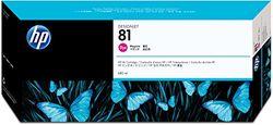 HP 81 Magenta Original Tintenpatrone, farbstoffbasiert, 680 ml