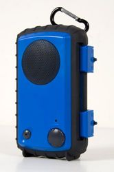 EcoXGear GDI-AQCSE102 Eco Extreme robuust/waterdichte luidspreker (3,5 mm jack) blauw