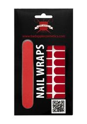 Bad Apple Lady In Red Nail Wraps, 1er Pack (1 x 1 Set)