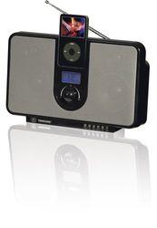 Transonic DS 1168 luidsprekersysteem voor Apple iPod zwart